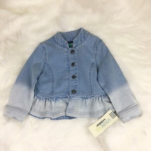 NWT OshKosh B'gosh Jean Jacket 18 month